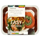 Waitrose Easy To Cook salmon roulade with spinach & ricotta - 280g