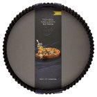 from Waitrose 30cm (12) non-stick loose base fluted quiche tin - 30cm