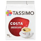 Tassimo Costa americano 16 large cups - 144g Brand Price Match - Checked Tesco.com 22/10/2014