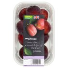 Waitrose British Plums - 500g