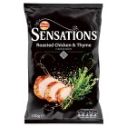 Sensations Crisps Roast Chicken & Thyme 150g