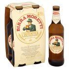 Birra Moretti beer - 4x330ml Brand Price Match - Checked Tesco.com 02/03/2015
