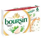 Boursin garlic & herbs 6 portions - 6x16g