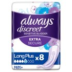 Always Discreet Long Plus - 8s