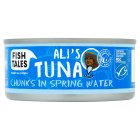 Fish Tales Ali's tuna chunks in spring water - drained 112g