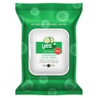 Yes to cucumbers facial towelettes - 30s