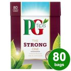PG Tips the strong one 80 bags - 232g