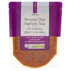 Waitrose LOVE life Morrocan vegetable soup - 300g