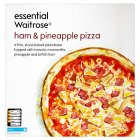 essential Waitrose ham & pineapple pizza - 315g