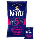 Kettle Chips sea salt & balsamic vinegar - 5x30g Brand Price Match - Checked Tesco.com 28/07/2014