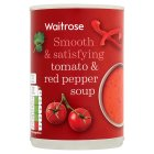 Waitrose tomato & red pepper soup - 400g