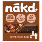 Nákd cocoa delight - 4x35g Brand Price Match - Checked Tesco.com 26/03/2015