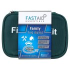 Fast aid essentials family first aid kit - each