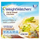 Weight Watchers oat & wheat crackers