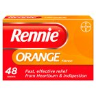 Rennie orange - 48s Brand Price Match - Checked Tesco.com 16/07/2014