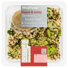 Waitrose World Deli Beetroot, Broad Bean & Hazelnut - 175g