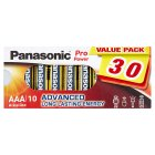 Panasonic Pro Power AAA - 30s