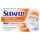 Sudafed congestion & headache relief - 16s New Line