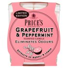 Price's Grapefruit & Peppermint Candle - 170g