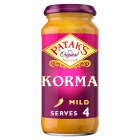 Patak's korma - 450g Brand Price Match - Checked Tesco.com 05/03/2014