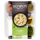 Scratch chicken Thai green curry - 965g