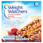 Weight Watchers apple & blueberry crumble biscuits - 6x22.5g Brand Price Match - Checked Tesco.com 05/03/2014