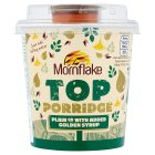 Mornflake top porridge golden syrup - 82g
