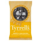 Tyrrells pork crackling with mustard