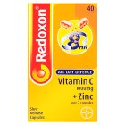 Redoxon all day defence vitamin C - 40s Brand Price Match - Checked Tesco.com 14/04/2014
