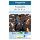 Waitrose Cooked Scottish Mussels - 2x200g