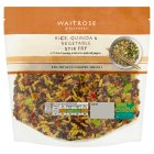 Waitrose Rice, Quinoa & Vegetable Stir Fry - 300g