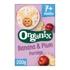 Organix banana plum porridge - 200g Introductory Offer