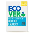 Ecover powder non bio 40 washes - 3kg