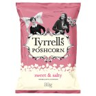 Tyrrells popcorn sweet & salty - 80g Brand Price Match - Checked Tesco.com 27/04/2016