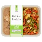 Waitrose LoveLife Calorie Controlled chicken with madeira wine & porcini mushrooms - 380g