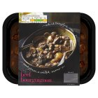 menu from Waitrose Slow-cooked beef bourguignon