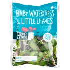 Steve's Leaves baby watercress & little leaves - 60g