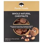 Porter Foods whole chestnuts - 200g