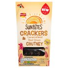Sunbites crackers & caramelised red onion chutney - 116g
