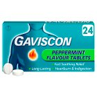 Gaviscon Peppermint Tablets - 24s