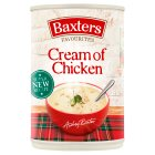 Baxters favourites cream of chicken soup - 400g Brand Price Match - Checked Tesco.com 01/07/2015