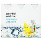 essential Waitrose lemonade with juice - 6x250ml