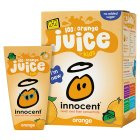 Innocent kids orange juice, 4x180ml - 4x180ml Brand Price Match - Checked Tesco.com 04/12/2013