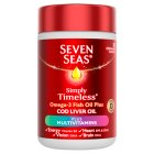 Seven Seas cod liver oil plus A-Z - 30s Brand Price Match - Checked Tesco.com 16/04/2014