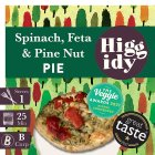 Higgidy spinach, feta & toasted pine nut pie - 270g