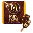 Magnum mini double 6s caramel chocolate - 360ml