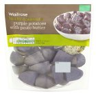 Waitrose Purple Potatoes with Pesto Butter - 360g