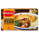 Birds Eye 4 shortcrust chicken pies frozen - 620g