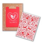 Waitrose Christmas Bird/Stag Cards - 20s