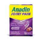 Anadin joint pain & inflammation ibruprofen capsules (pack of 16) - 16s